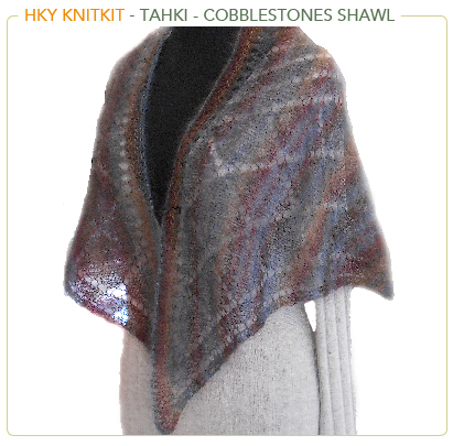 Tahki Stacy Charles - Cobblestones Shawl