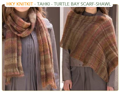 Tahki Stacy Charles - Turtle Bay Scarf Shawl